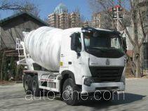 豪泺牌ZZ5257GJBN3847N1型混凝土搅拌运输车