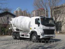 豪泺牌ZZ5257GJBM4047N1型混凝土搅拌运输车