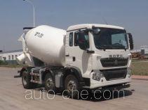 豪沃牌ZZ5257GJBN27CGD1型混凝土搅拌运输车