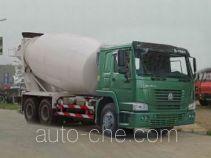 豪泺牌ZZ5257GJBN3247C型混凝土搅拌运输车