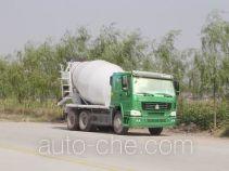 豪泺牌ZZ5257GJBN3247W型混凝土搅拌运输车
