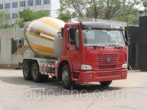豪泺牌ZZ5257GJBN3248型混凝土搅拌运输车