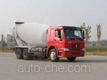 豪泺牌ZZ5257GJBN3641W型混凝土搅拌运输车