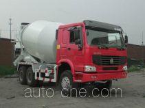 豪泺牌ZZ5257GJBN3647D1型混凝土搅拌运输车