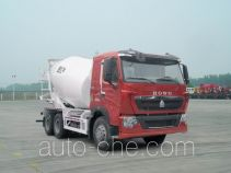 豪泺牌ZZ5257GJBN364HC1型混凝土搅拌运输车