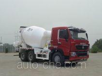 豪沃牌ZZ5257GJBN364HD1型混凝土搅拌运输车