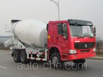 豪泺牌ZZ5257GJBN3847D1型混凝土搅拌运输车