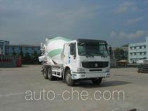 豪泺牌ZZ5257GJBN3847C1L型混凝土搅拌运输车