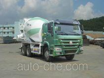 豪沃牌ZZ5257GJBN3847E1L型混凝土搅拌运输车