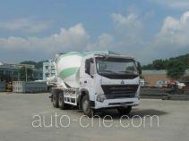 豪泺牌ZZ5257GJBN3847P1L型混凝土搅拌运输车