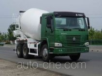 豪泺牌ZZ5257GJBN3848W型混凝土搅拌运输车