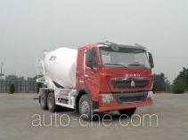 豪泺牌ZZ5257GJBN384HC1型混凝土搅拌运输车