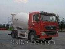 汕德卡牌ZZ5257GJBN384HD1型混凝土搅拌运输车