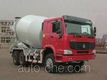 豪泺牌ZZ5257GJBN4047D1型混凝土搅拌运输车
