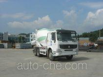 豪泺牌ZZ5257GJBN4047C1L型混凝土搅拌运输车