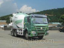 豪沃牌ZZ5257GJBN4047E1L型混凝土搅拌运输车