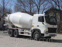 豪泺牌ZZ5257GJBN4047N1型混凝土搅拌运输车