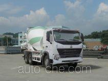 豪泺牌ZZ5257GJBN4047P1L型混凝土搅拌运输车