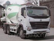 豪沃牌ZZ5257GJBN4047Q1L型混凝土搅拌运输车