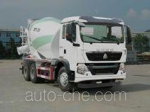 豪沃牌ZZ5257GJBN404GD1型混凝土搅拌运输车