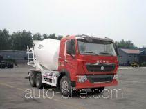 豪泺牌ZZ5257GJBN404HC1型混凝土搅拌运输车