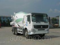 豪泺牌ZZ5257GJBN4347C1型混凝土搅拌运输车