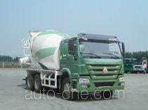豪泺牌ZZ5257GJBN4347D1型混凝土搅拌运输车