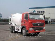 豪泺牌ZZ5257GJBN434HC1型混凝土搅拌运输车