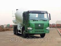 豪泺牌ZZ5257GJBS3847W型混凝土搅拌运输车