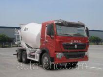 豪泺牌ZZ5257GJBV364HC1型混凝土搅拌运输车