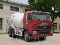 豪泺牌ZZ5257GJBV404HC1型混凝土搅拌运输车
