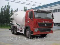 豪泺牌ZZ5257GJBV434HC1型混凝土搅拌运输车