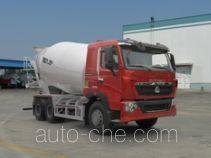 汕德卡牌ZZ5257GJBV434HD1型混凝土搅拌运输车