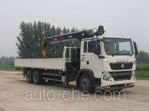 Sinotruk Howo ZZ5257JSQM584GD1B truck mounted loader crane