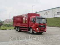 豪曼牌ZZ5258CCYGH0EB0型仓栅式运输车