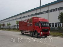 Homan ZZ5258CCYKC0DB0 грузовик с решетчатым тент-каркасом