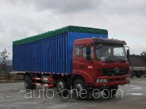 Homan ZZ5258CPYHC3CB0 soft top box van truck