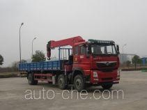 豪曼牌ZZ5258JSQKC0DB0型随车起重运输车