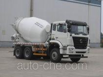 豪瀚牌ZZ5265GJBK3243E1K型混凝土搅拌运输车