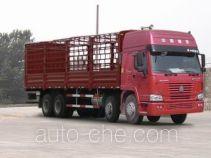 豪泺牌ZZ5267CLXM4661V型仓栅式运输车