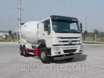 豪沃牌ZZ5267GJBN3247D1型混凝土搅拌运输车