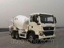 豪沃牌ZZ5267GJBN324GD1型混凝土搅拌运输车