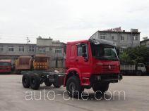 豪沃牌ZZ5277V4657E1型特种作业车底盘