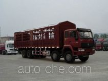 Sida Steyr ZZ5311CLXM3861C грузовик с решетчатым тент-каркасом
