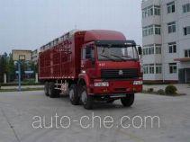 Sida Steyr ZZ5311CLXM3861C1 грузовик с решетчатым тент-каркасом