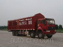 Sida Steyr ZZ5311CLXM3861C1H грузовик с решетчатым тент-каркасом