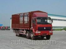 Sida Steyr ZZ5311CLXM4661C грузовик с решетчатым тент-каркасом