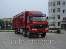 Sida Steyr ZZ5311CLXM4661C1 грузовик с решетчатым тент-каркасом