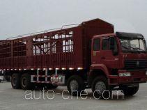 Sida Steyr ZZ5311CLXN3861C грузовик с решетчатым тент-каркасом