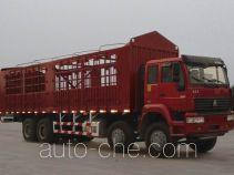 Sida Steyr ZZ5311CLXN3861C1H грузовик с решетчатым тент-каркасом